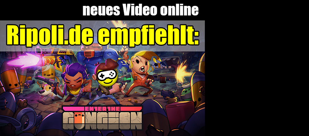 Ripoli.de empfiehlt: ENTER THE GUNGEON.